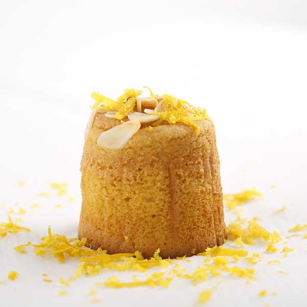 muffin de naranja individual una unidad