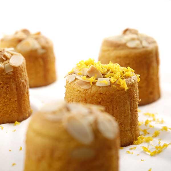 muffin naranja individual cinco unidades