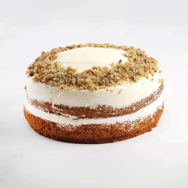 carrot cake con cobertura