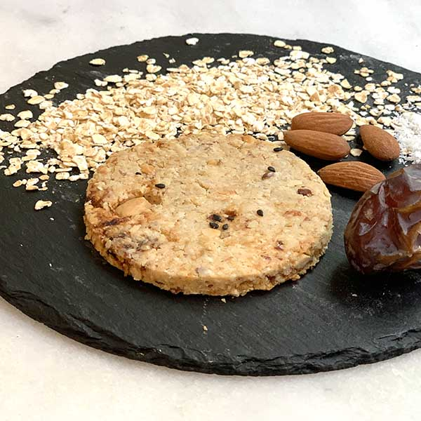 galleta vegana sin azúcar